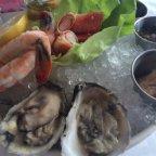 Elegant lunch in Chicago: Riva Crabhouse, Navy Pier