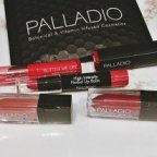 Review of Palladio: cosmetics to create a Valentine's Day pout