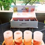 A tasty and elegant new way to drink tequila: Root7 Himalayan Salt Shots