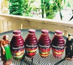 I tried new Beetology organic juices and wrote about it!