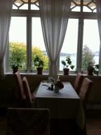 A most unique setting for dining: Sweden's Pensionat Styrso Skaret