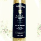 Jet-setters: be gorgeous with luxury White Truffle Shampoo by Philip B