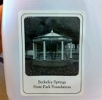 A cheap luxury travel souvenir: water! Berkeley Springs, WV [classic article]