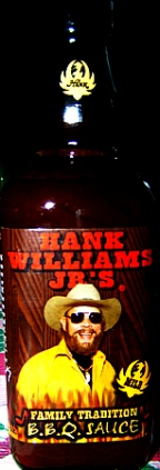 A 'favorite': Hank Williams Jr. BBQ sauce with recipes!Let Bocephus show you how they do it in Dixie [classic article]