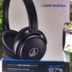Peace and quiet on planes! Audio-Technica's Noise Cancelling Headphones  [classic article]