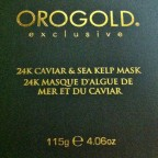 Luxe skin beauty after traveling with Orogold 24K Caviar & Sea Kelp Mask  [classic article]