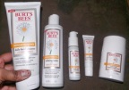 Travelers: get rid of sun spots, age spots with Burt's Bees Brightening line [classic article]