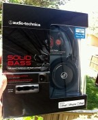 Beautiful bass tones on the road with Audio-Technica's Solid Bass headphones [classic article]