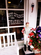 Southern hospitality at a business: Hot Springs Pharmacy in Virginia