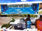 I try a special Bahamian cocktail in The Bahamas: Coconut Sky Juice [classic article]