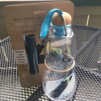 Clean, delicious water at your house: black + blum Eau Good Glass