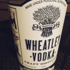 Vodka made in Kentucky? Yes! Wheatley vodka