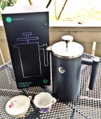 Elegant, flavorful coffee at home with Coffee Gator's French Press Coffee Maker