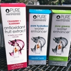 Flavorful, healthy way to enhance your water: Pure Inventions