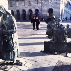 Fascinating statues of Wroclaw, Poland