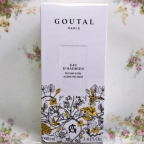 Innovative and fresh fragrance: Goutal Paris Eau d'Hadrian alcohol-free water